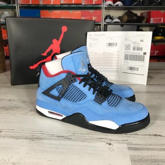 69a4440ee1a9 100% Authentic Sz 11 Retro Jordan 4 Cactus Jack s
